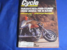 CYCLE MAGAZINE-JANUARY 1978-SUZ RM250C-BMW R80/7-YAMAHA XS11-ASCOT TT-VINTAGE MX
