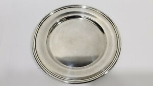 VINTAGE S. KIRK & SON STERLING SILVER BREAD & BUTTER PLATE #58