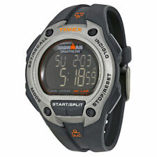 Timex Adult Digital Silver Case Wristwatches