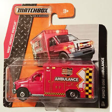 FORD E-350 AMBULANCE -  Red Tri-County No.5 | MATCHBOX | #75
