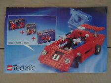 LEGO Technic - notice voiture de course nécessitant les Lego 8024 + 8815 + 8820
