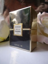 CHANEL COCO PARFUM 7ml .23oz 1st vintage FORMULA 1980s SCATOLA SIGILLATA pesava & Full