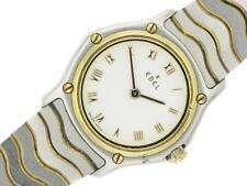 Ebel Classic Wave Ladies Watch Stainless Steel and Gold With Roman Numeral Dial