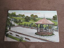Early postcard - Bellevue Park - Newport Monmouthshire