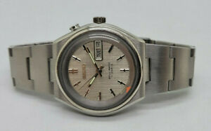 RARE VINTAGE SEIKO BELL-MATIC SILVER DIAL DAYDATE AUTOMATIC MAN'S WATCH