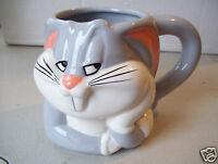 Rare Antique Bunny Rabbit Coffee Tea Mug Cup