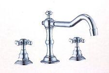 Faucet / Pop-Up Drain - 3 Hole Chrome Faucet  (Q4)