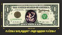 WHITESNAKE IMAN BILLETE 1 DOLLAR BILL MAGNET