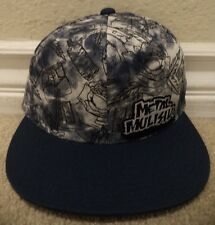 METAL MULISHA PARTYTIME BLUE FLEXFIT L/XL CAP HAT SAMPLE *NEW*