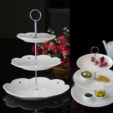 2/3Tier Cake Cupcake Plate Stand Handle Fitting Hardware Circle Rod Gifts New
