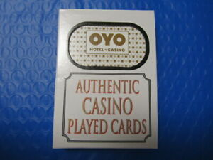 OYO Hotel & Casino Las Vegas Deck of Playing Cards + FREE Poker Chip