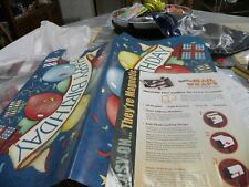 Mailbox Cover , Vinyl Mail Box Wrap Happy Birthday