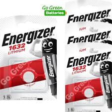 4 x Energizer 1632 CR1632 3V Lithium Coin Cell Battery DL1632 KCR1632, BR1632