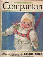 1939 Womans Home Companion January - Maud Tousey Fangel; Edna Ferber; Don Ameche