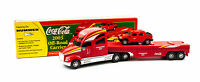 Rare Speedway Coca Cola 2003 Gold Off Road Carrier Truck - w/ Humvee   IOB