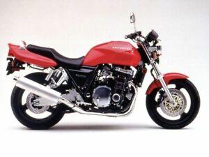 HONDA CB1000 SUPER FOUR SC30 1992-1996 FRONT & REAR STAINLESS BRAIDED BRAKE KIT