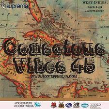 CONSCIOUS VIBES VOL 45 REGGAE CULTURE LOVERS ROCK MIX CD