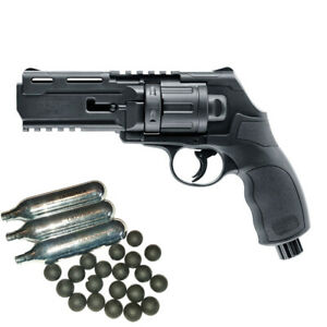 UMAREX T4E HDR 50 cal.50 Revolver Training 4 Engagement Home Defense Starterpack