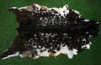 "New GOAT Western taxidermy Hide Rug Natural Fur Goat Hide 50548 (34"" X 25"" )"