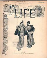 1893 Life April 20-Rainsford Island is mean; Jewish Pawn broker; St. Bernard