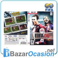 Juego PC Fifa 06 DVD EA Sports Nuevo Precintado Castellano