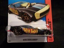 HW HOT WHEELS 2014 HW RACE #159/250 NITRO DOORSLAMMER HOTWHEELS BLK TRACK READY