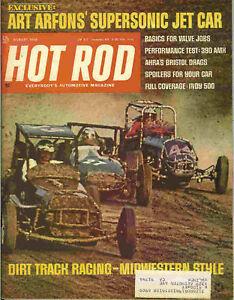Hot Rod 1968 Aug arfon 390 amx indy 500 dirt track race