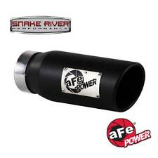 "AFE 12""  BLACK STAINLESS STEEL EXHAUST TIP 3.5"" INLET 4.5"" OULET 49-92011-B"