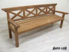 große Sitzbank Bank Teak-massiv 222 cm breit, Vintage Möbel von Antik-Lux