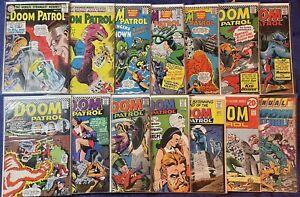 Doom Patrol Comic Lot88-89, 102, 104, 106, 108-110, 112, 116, 120-121, 123