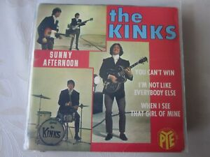 The Kinks               EP     Sunny Afternoon