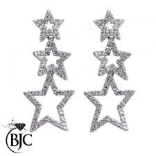 Pendientes de joyería con diamantes naturales VS1