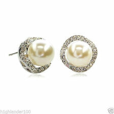Unbranded Pearl (Imitation) Stick Costume Earrings