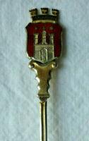 ANDENKENLÖFFEL HAMBURG SILBER 800/f. vor 1918 Gew. ca. 9 Gramm SOUVENIR SPOON
