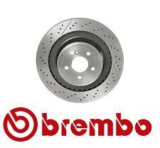Mercedes Benz C63 CLS63 E63 AMG 10-16 Rear Disc Brake Rotor Brembo 09 A822 11