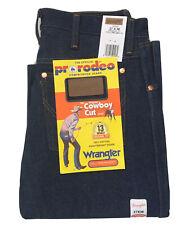 Vintage NOS Wrangler Men's 13MWZ 27x36 Cowboy Cut Original Fit Denim Blue Jeans