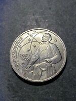 Russia USSR commemorative coin 1 rouble 1987 Konstantin Tsiolkovsky .