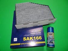 Aktivkohle Pollenfilter / Innenraumfilter + Klimareiniger VW Golf 6 (5K, AJ5)