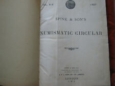 More details for book; spink & sons numismatic circular vol xlv 1937