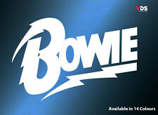 David Bowie Musica Adesivo in Vinile Decalcomania Auto Portatile