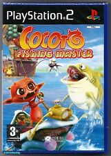 PS2 Cocoto Fishing Master (2006), UK Pal, New & Sony Factory Sealed