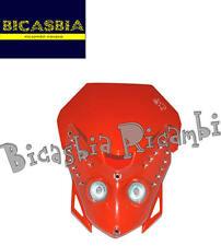 8404 - MASCHERINA FARO ANTERIORE E.T. CON LED ARANCIO ENDURO