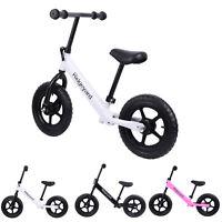"Ridgeyard 12"" Kids Balance Bike Push No Pedal Scooter Training Learn To Ride"