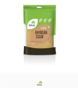 12 X 500g LOTUS Sugar Rapadura Organic ( total 6kg )