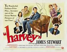 HARVEY Movie POSTER 22x28 Half Sheet C James Stewart Josephine Hull Victoria
