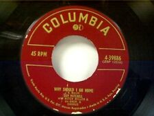 "GUY MITCHELL ""WHY SHOULD I GO HOME / DON'T ROB ANOTHER MAN'S CASTLE"" 45"