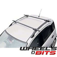 WNB UNIVERSAL LOCKING CAR SUV ROOF BARS FOR CARS WITH RAILS RACK FITTED LOCKABLE