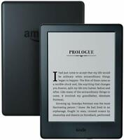 """Kindle E-reader (8th - Generation) 6\"""" Display, Wi-Fi, Built-In Audible - Black"""