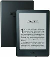 "Kindle E-reader (8th - Generation) 6"" Display, Wi-Fi, Built-In Audible - Black"