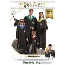 SEWING PATTERN! MAKE OFFICIALLY LICENSED HARRY POTTER ROBES! CHILD~TEEN~ADULT!